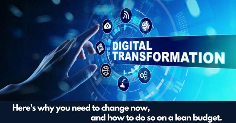 Speed Up Your Digital Transformation